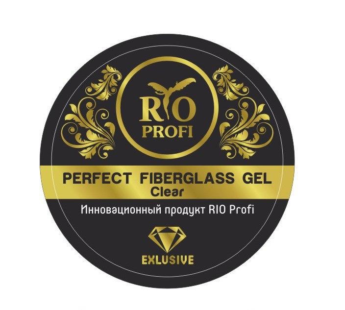 Rio Profi, гель для моделирования ногтей со стекловолокном, однофазный, 7гр
