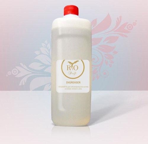 Rio Profi, жидкость для обезжиривания ногтей и снятия липкого слоя, 1 литр