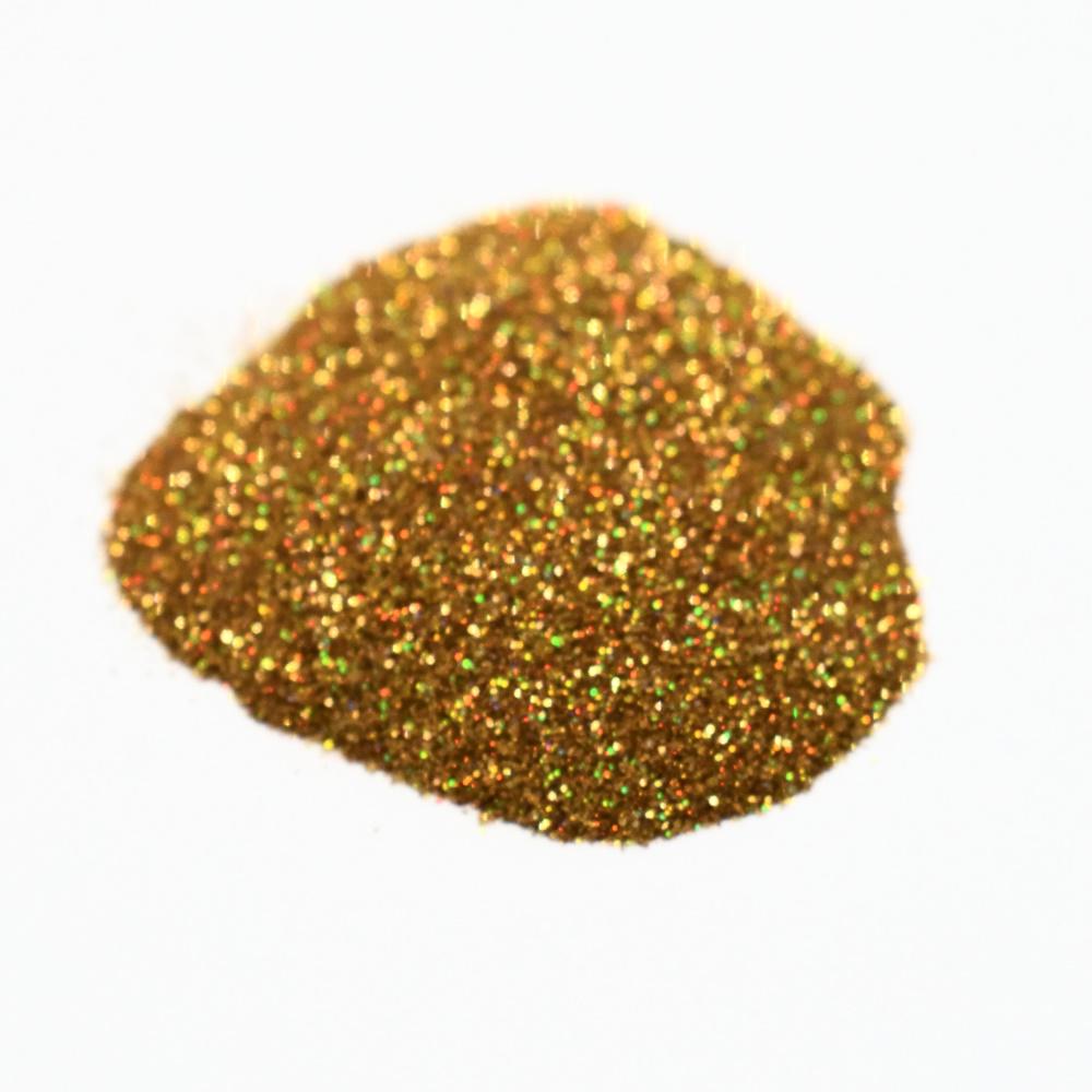Втирка, бронза с голографическими микро блестками