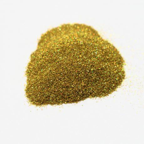 Втирка, золото с голографическими микро блестками