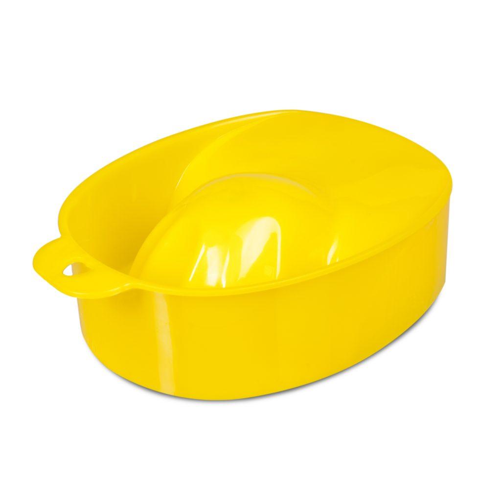 Ванночка для маникюра, желтая