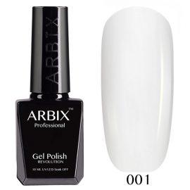 ARBIX, гель-лак, №001, белый